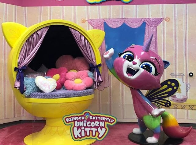 Кошечка единорог из мультика Rainbow Butterfly Unicorn Kitty станет игрушкой