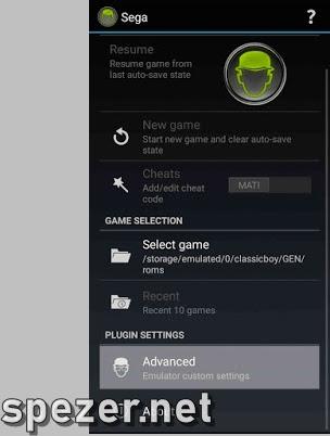 Cara Menggunakan Emulator Sega CD Android CalssicBoy