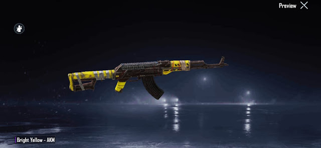 Get Free Permanent Legendary Outfit and AKM skin in PUBG Mobile