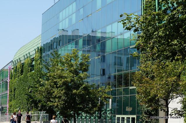 Powiśle Warszawa Warsaw Biblioteka Uniwersytecka w Warszawie Marek Budzyński Zbigniew Badowski