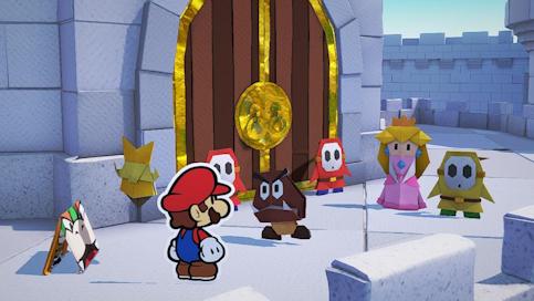 Le test de Paper Mario The Origami King sur Nintendo Switch