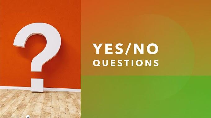วิธีสร้างประโยคคำถาม ใช่หรือไม่
