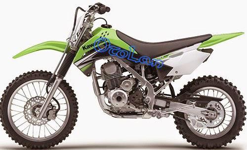 Gambar Harga Motor Trail Kawasaki
