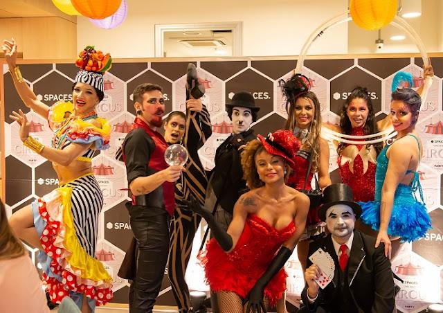 Show para eventos corporativos Humor e Circo Eventos no Rio e Sp