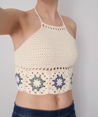 free crochet top pattern