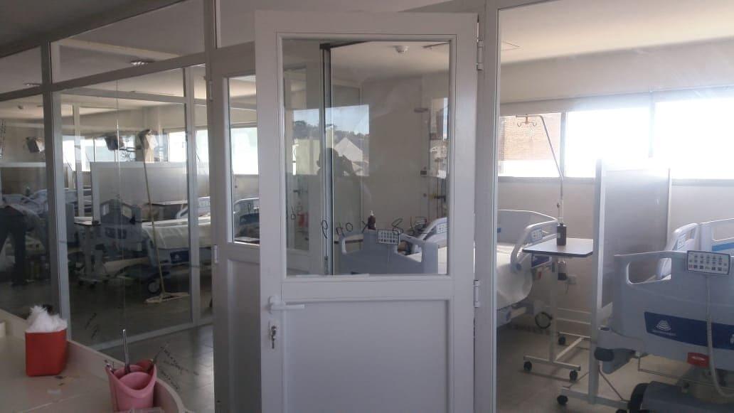 Realizan modificaciones en la estructura del área de terapia intensiva del hospital