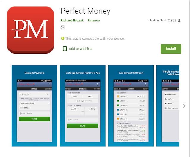 perfect money app