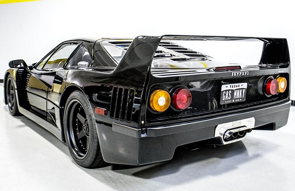 Ferrari F40 de Gas Monkey
