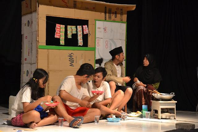 Pementasan Drama SMA Kestrian 2 Semarang