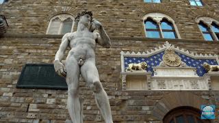 El David de Miguel Angel, en como ver Florencia en dos dias