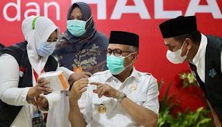 Gubernur Aceh Nova Iriansyah Dinyatakan Positif Corona