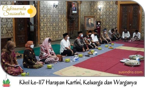 Acara khol Kartini ke-117 dilakukan di Pringgitan Kabupaten Jepara
