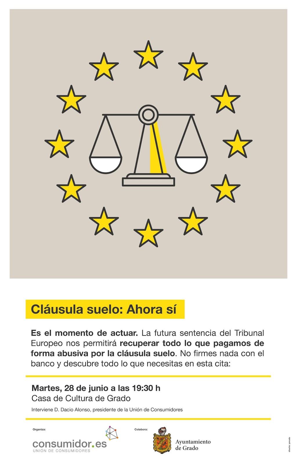 Culturagrado charla informativa cl usula suelo ahora s for Sentencia clausula suelo 2016