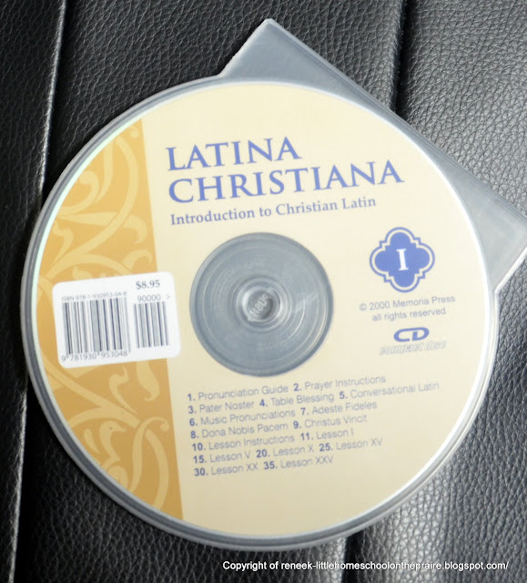 TOS Crew Review - Latina Christiana I Memoria Press