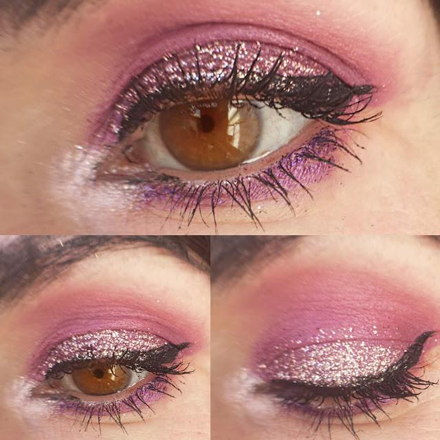 look con glitter zoom ojos