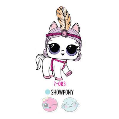 Белая пони из серии 4 ЛОЛ Сюрприз питомцы 2018 года