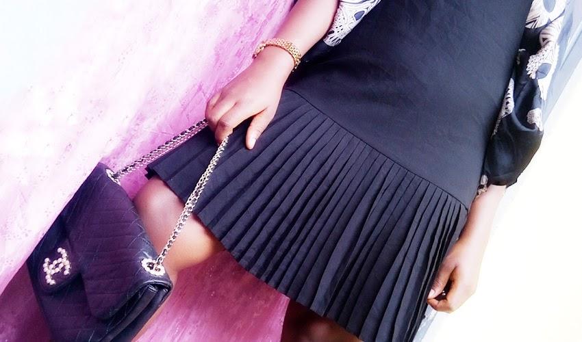 Fashion || Styling The Little Black Dungaree-Like Dress