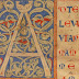 Manuscrit du Moyen Âge à colorier