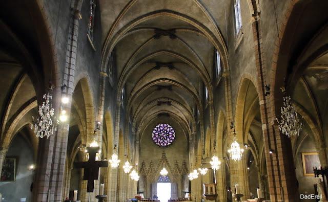 Nef de l'église Saint Bonaventure, Lyon