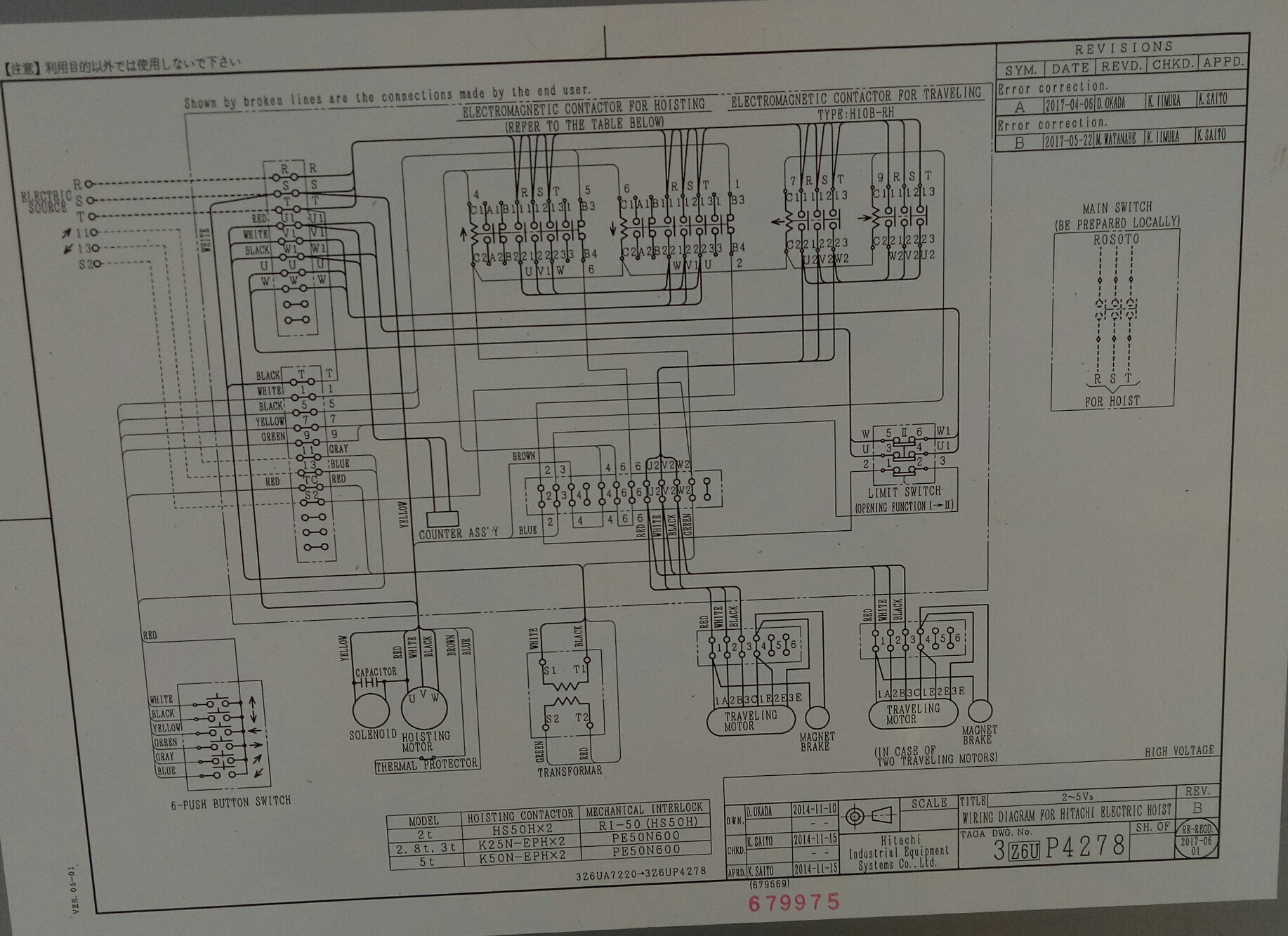 Wiring Diagram For Electric Chain Hoist from 1.bp.blogspot.com