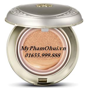 Kem che khuyết điểm dưỡng trắng, dưỡng ẩm Whoo Whitening Moisture Glow Cushion Foundation SPF50+/PA+++