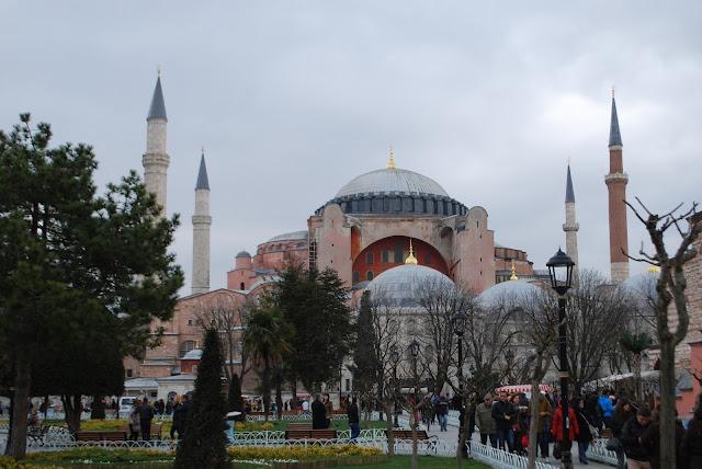 Собор Святой Софии (Айя-София), Стамбул, Турция.