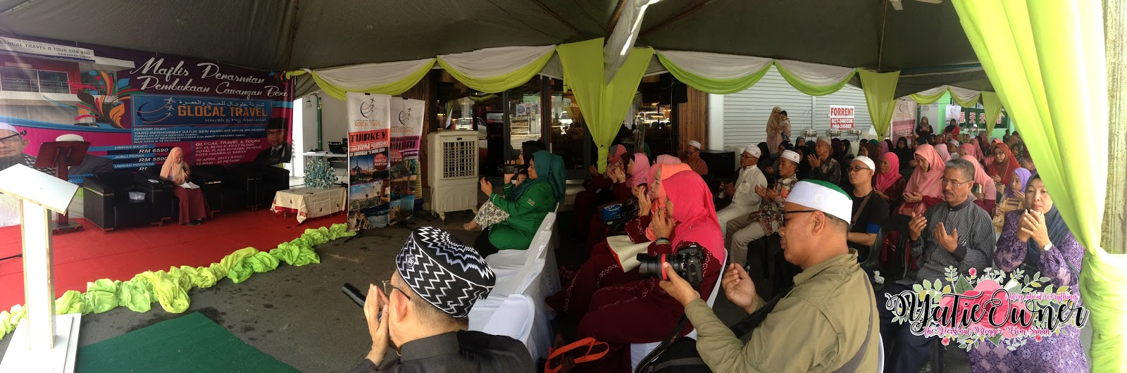 Majlis Perasmian Pembukaan Cawangan Baru Glocal Travel & Tours Sdn Bhd Kota Kinabalu, Sabah
