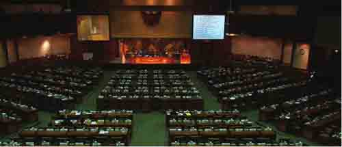 dewan perwakilan rakyat dpr menjalankan tugasnya sesuai kekuasaan bagiannya