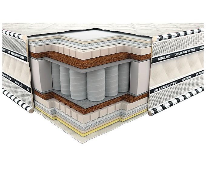 Ортопедический матрас 3D Империал Латекс Кокос Зима-лето PS 80х190 ТМ Неолюкс