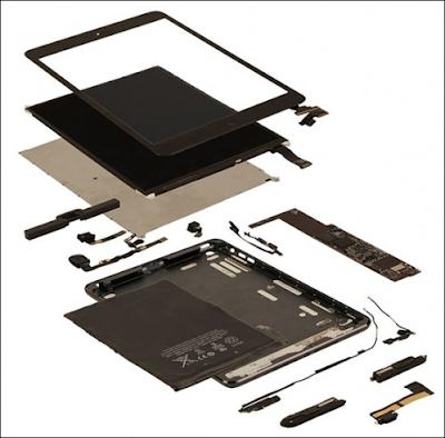 Huong dan thay kinh man hinh iPad Mini
