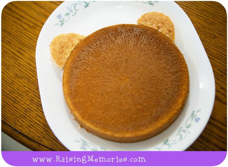 Teddy Bear Face Cake