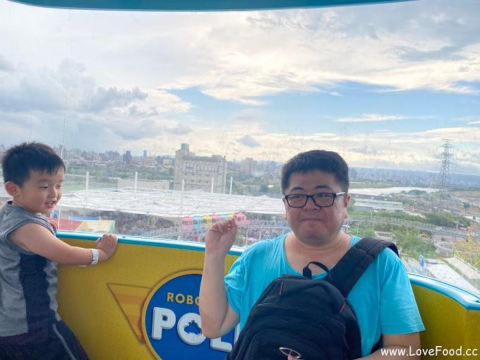 兒童新樂園摩天輪 @ 臺北市兒童新樂園 - 可愛的卡通造型車廂 情人約會也適合-mo tian lun