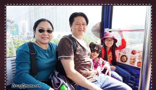 DIY Hong Kong Tour Itinerary - Hong Kong family tour - visit Hong Kong - Ngong Ping 360 - cable car