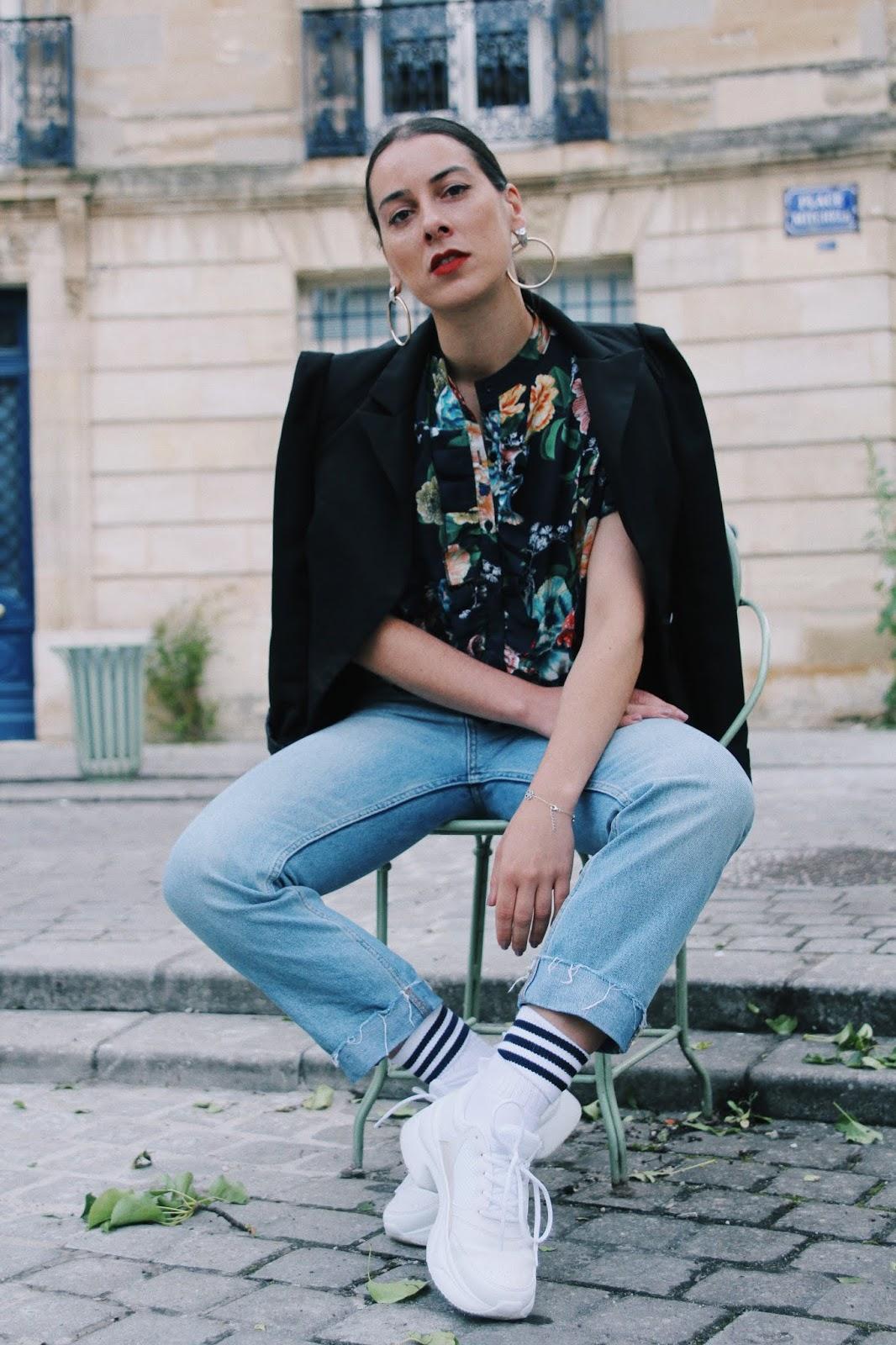 idée de look imprimé fleurs tendance printemps été 2018
