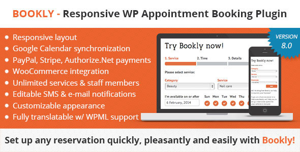 Free download latest version of bookly-v80-wordpress-booking-scheduling-appointment-plugin