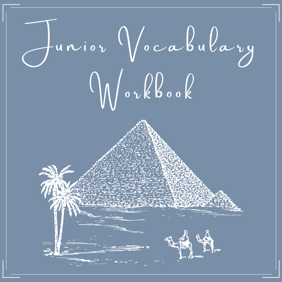 Junior Vocab Worksheets And More
