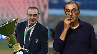 Sarri Sacked As Juventus Manager