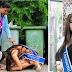 Isang Beauty Queen ang lumuhod sa paanan ng kaniyang Ina na isang garbage collector para magpasalamat