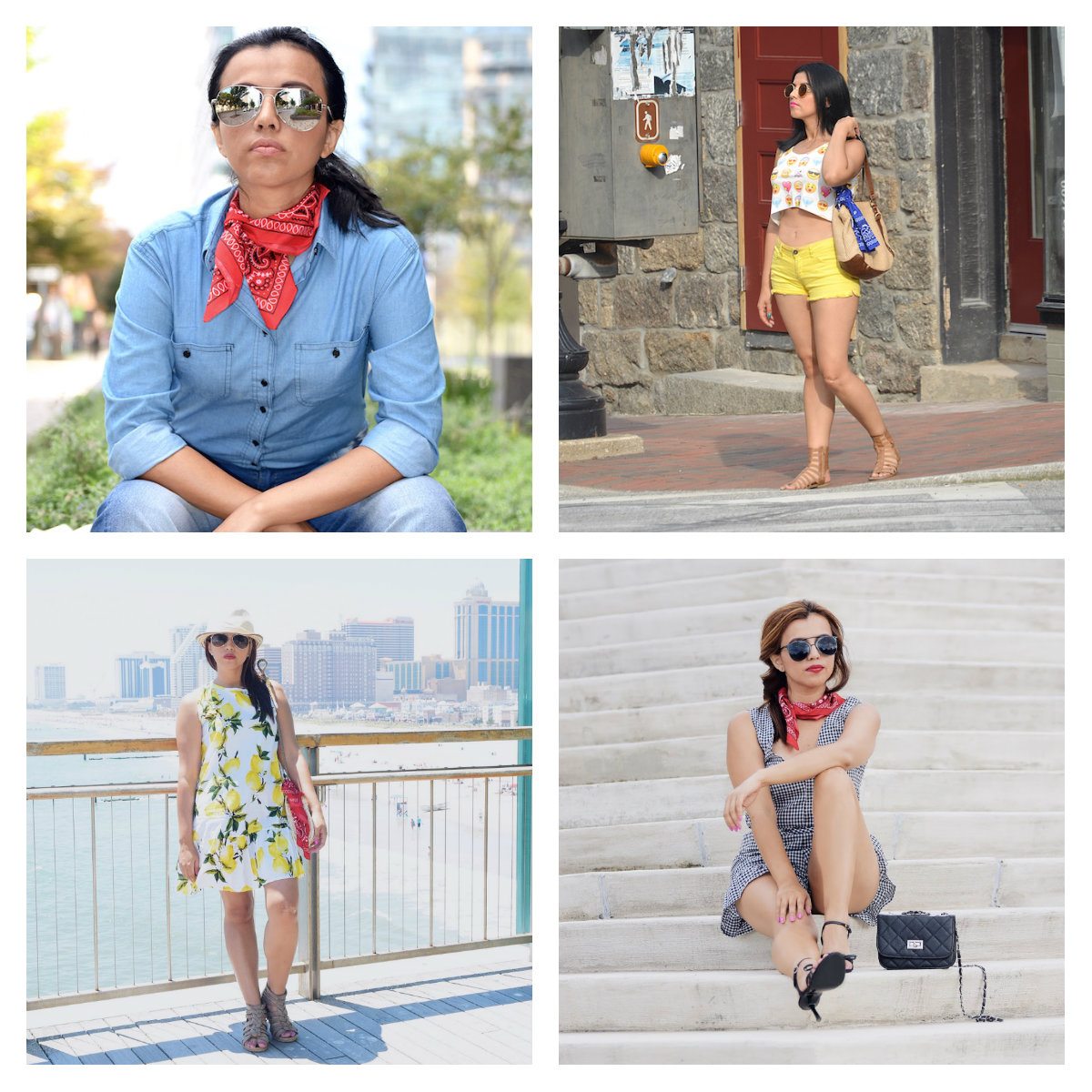 The Power Of A Bandana by Mari Estilo-lookoftheday-fashionblogger-travelblog-90s-fashionista-viajeros-blogger-banana republic
