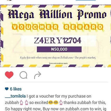 Stella Dimoko Korkus com: Zubbah Is Still Rewarding Its Customers