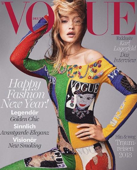 Luxury Makeup - (Gigi Hadid VogueGermany Magazine Inspired Makeup )