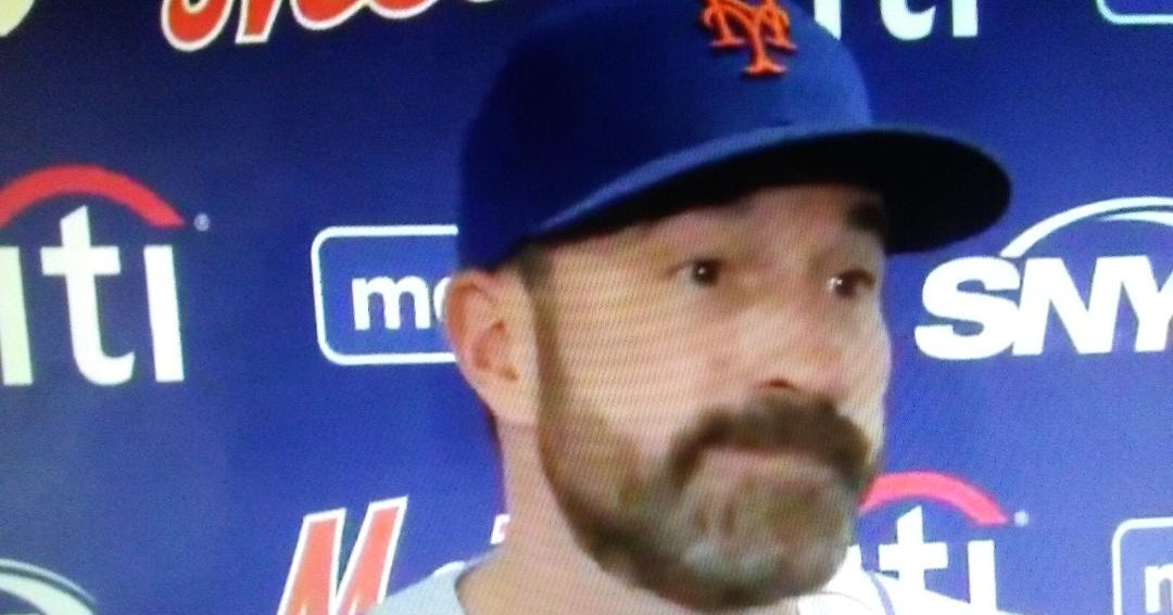 "Was Mets manager Mickey Callaway lying during post game presser, ""I thought Lugp had good stuff."""