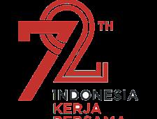 Vektor Logo Peringatan HUT RI Ke-72 Tahun 2017