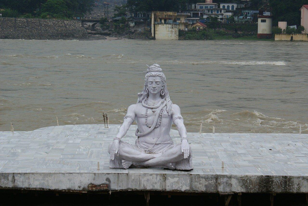 Lord Shiva on kashi
