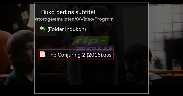 Pilih File Subtitle