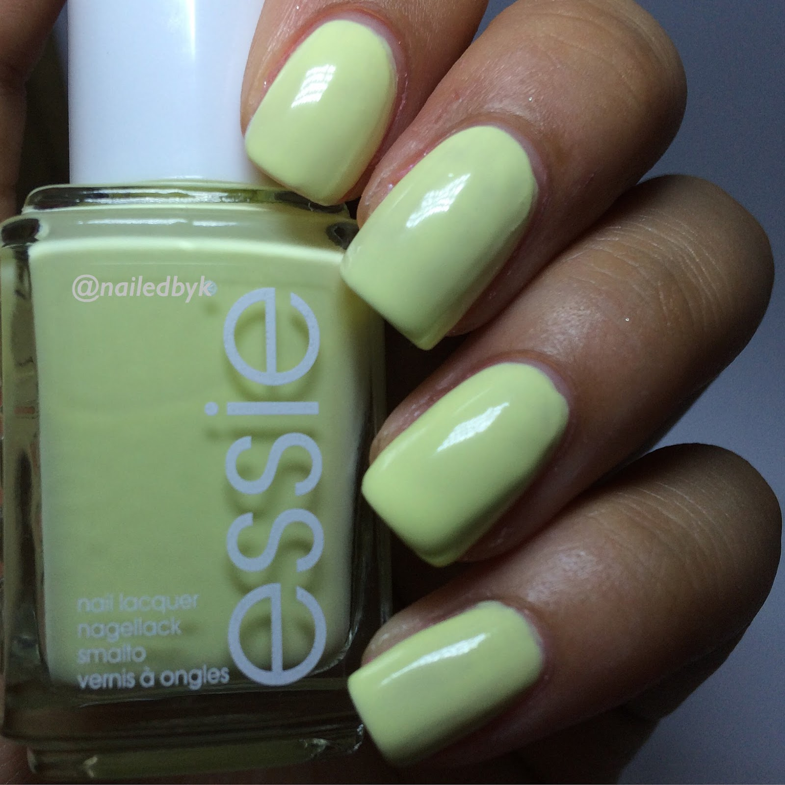 Essie Summer Collection 2015 - Swatch and Review | Nailed by Kim