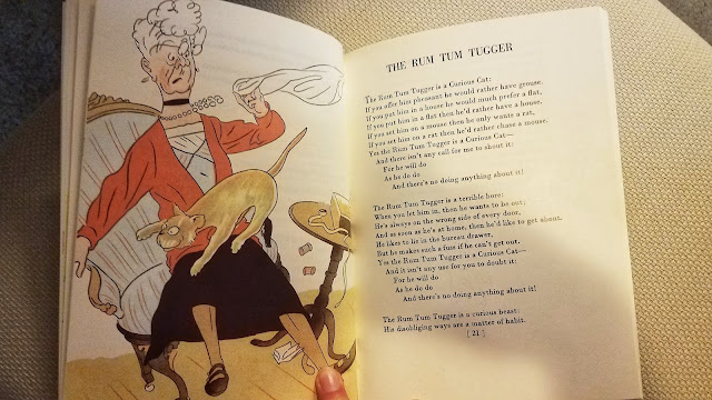Rum  Tum Tugger Poem by T.S. Elliott from Cats