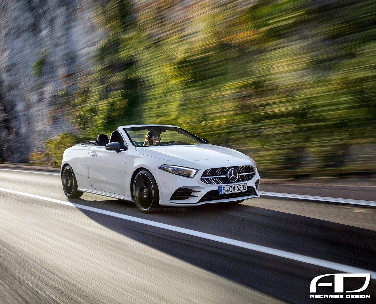 Mercedes-Benz A-Class Cabrio (render 2)