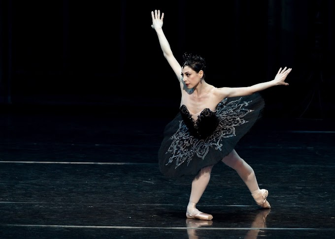 Maia Makhateli - Ballet Is a Vocabulary of Dance Steps and Movements Which Tell and Express the Story (Ballerina Artist)