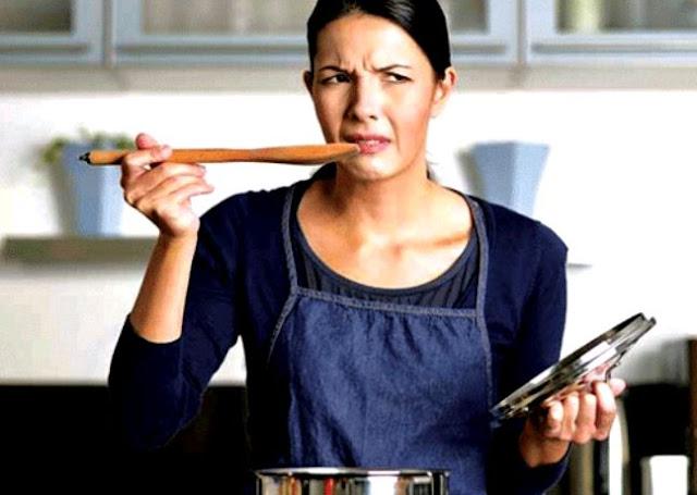 Tips Mengatasi Masakan Keasinan